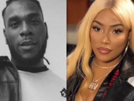 Stefflon Don hints at the size of Burna Boy