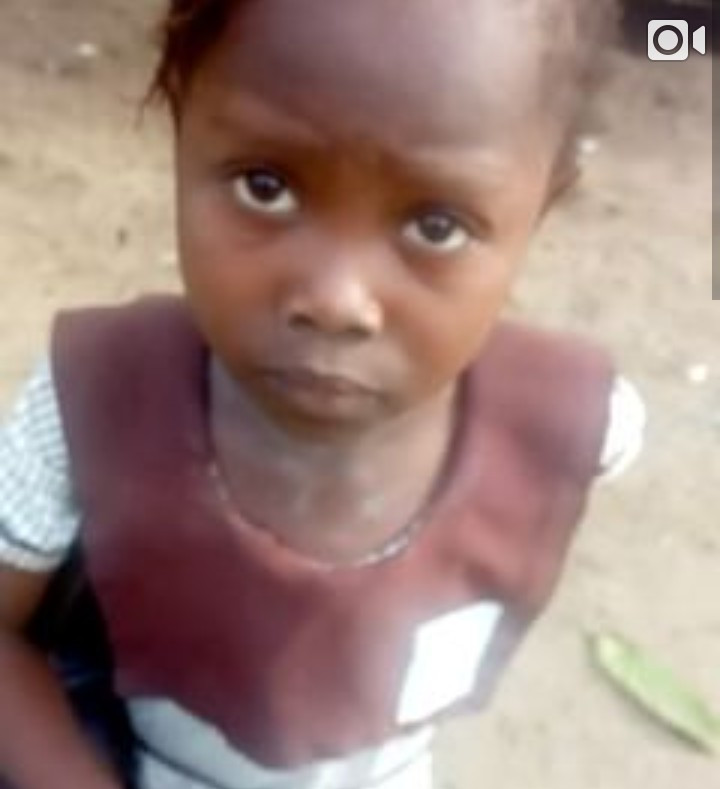 Little girl reacts to being chased from school for not paying school free then vows to deal with her school