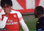 Alex Iwobi is Called Out For Mocking A Player During A Match [Video]