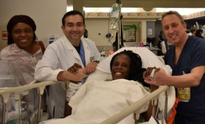 Nigerian lady, Chiaka Thelma welcomes sextuplets in a US hospital