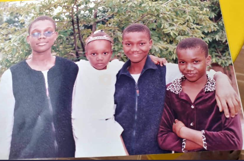 Check Out Stunning Transformation of These Four Sisters Who Many Thought Were All Boys [Photos]