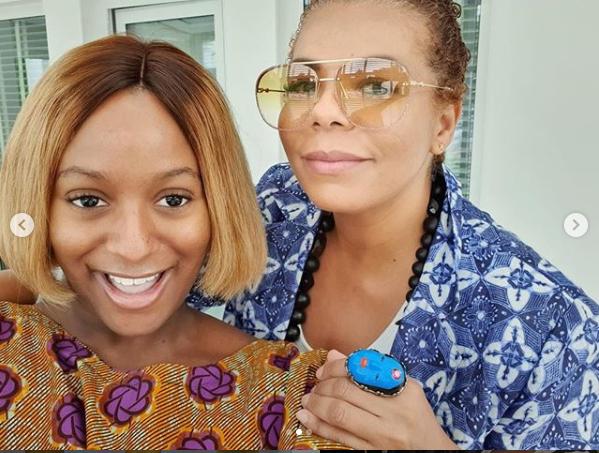 DJ Cuppy shares new glowing photos with her beautiful mom Nana Otedola