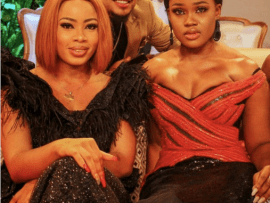 ?#BBNReunion: Cee-C and Nina enjoy a laugh on Twitter after sex between