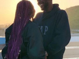 Adekunle Gold and Simi all loved up in this new photo