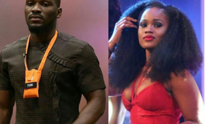 Video of Tobi and CeeC talking about their first kiss in the house is the sweetest thing you will watch today