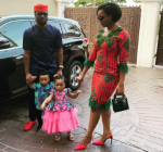 Lovely Photos of Paul Okoye, His Wife, Anita And Their Twins