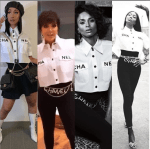 Between Cardi B, Kris Jenner, Ciara & Naomi Campbell: Who Rocked The Chanel's Button-Down Shirt Better