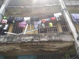 Photos: See the deplorable state of the Mobile Police Barrack in Port Harcourt
