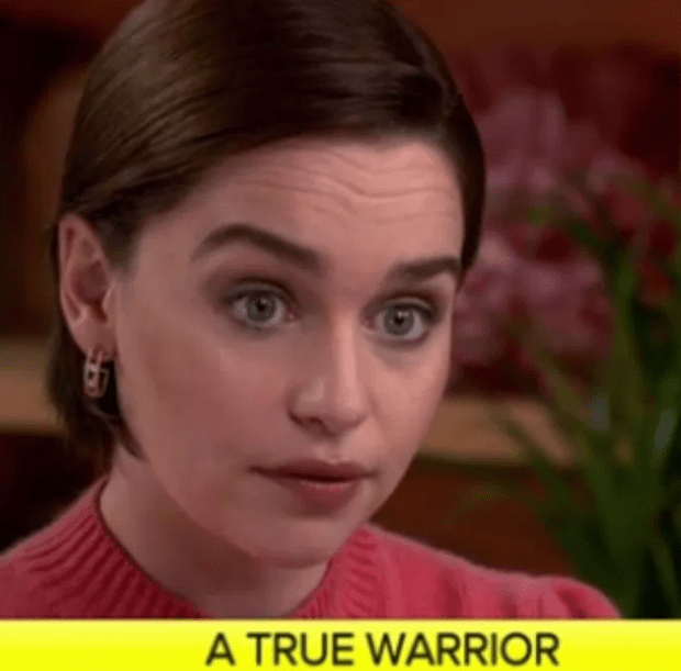 Game of Thrones star Emilia Clarke shares photos from hospital as she received treatment for brain aneurysm