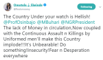 """""""The Country Under Your Watch is Hellish"""" – Omotola Jalade-Ekeinde Tells President Buhari And VP Osinbajo"""