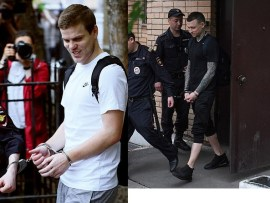 Update: Russian football stars Alexander Kokorin and Pavel Mamaev jailed? a year and a half in prison for hooliganism (Photos)