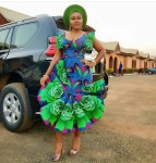 Lol! See What A Lady Got After She Asked A Tailor To Recreate Mercy Aigbe's Iconic Dress [Photos]
