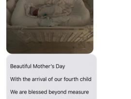 Kim Kardashian and Kanye West name their newborn son, Psalm West (photo)