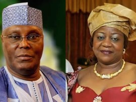 Atiku set to bring N2billion suit against Lauretta Onochie as she refuses to apologise over her