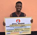 Young Man All Smiles As He, Three Others Bag Jail Terms For Internet Fraud in Abeokuta [Photos]