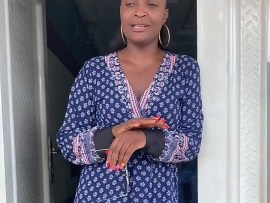 Blessing Okoro reacts following her arrest, assures her followers that she