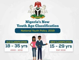 FG releases new age classification, 15 year old now to be regarded as a youth