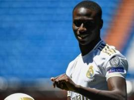 Ferland Mendy in a Real Madrid shirt