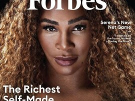 Serena Williams becomes the first athlete to make Forbes