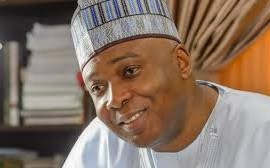 Saraki donates N7.4m severance allowance to Leah Sharibu?s family, others