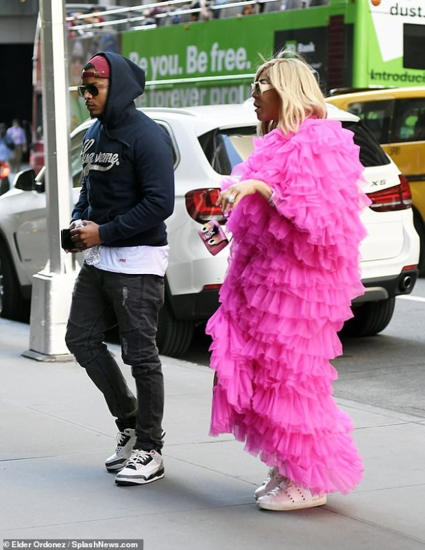 Wendy Williams, 54, steps out in stylish dress as she goes on a date with her new beau and convicted felon, Marc Tomblin, 27 (Photos)
