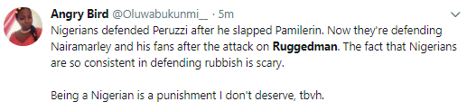 This is wrong on all levels - Nigerians react to the attack on Ruggedman in London