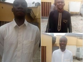 Three young men bag one year jail term for romance scam in Ilorin