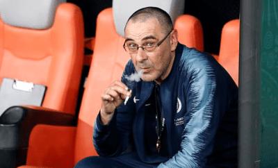 """I smoke 60 cigarettes a day"" - Ex-Chelsea coach, Maurizio Sarri"