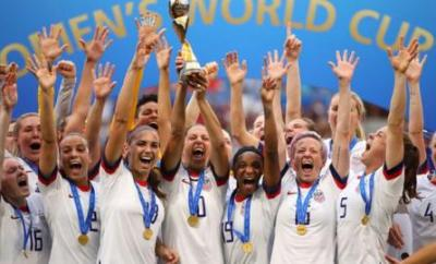 US Women lift the World Cup