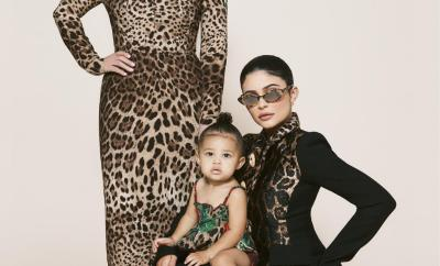 Three generations! Kylie Jenner covers Harper