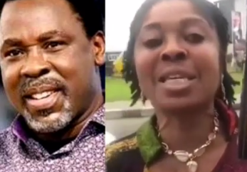 Lady accuses TB Joshua of sexually abusing her while she was a member of his church