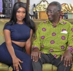 Photo of The Day: Ghana's Ex-President John Kufuor And Singer, Wendy Shay