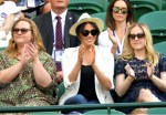 Meghan Markle Makes Surprise Appearance At Wimbledon To Support Serena Williams [Photos]