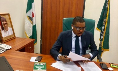 Shina Peller shares new photos from his office