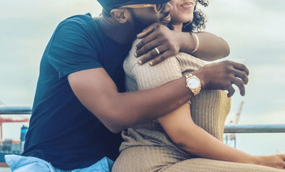 ?DBanj and his wife, Lineo Didi Kilgrow all loved-up in new photo
