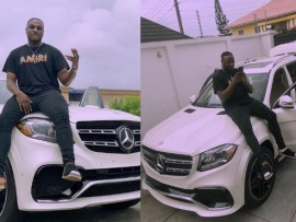 Peruzzi buys a new Benz