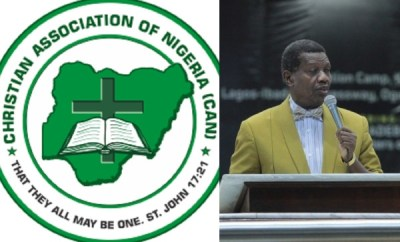 CAN reacts to protest against Pastor Adeboye