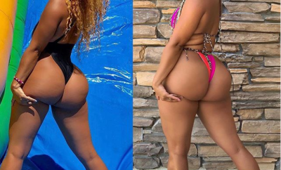 Reality star, Natalie Nunn flaunts her curvy backside in new photos