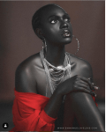 Melanin Popping: Beverly Osu Glows in New Photos
