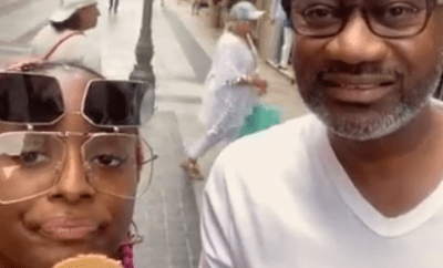 Hilarious reactions as Otedola and daughter DJ Cuppy travel to Italy just to have Ice Cream