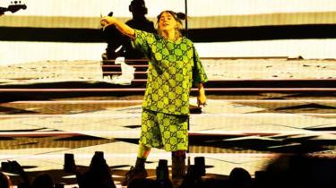 Billie Eilish performing in July 2019