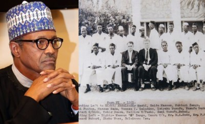 See the certificate and secondary school photo President Buhari presented at the Presidential tribunal