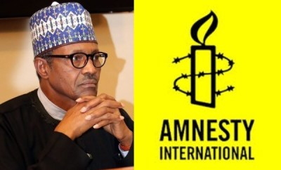 Presidency places Amnesty Nigeria on security watch list