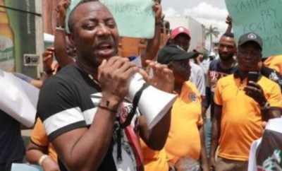 #FreeSowore: Nigerians call out President Buhari over Omoyele?Sowore