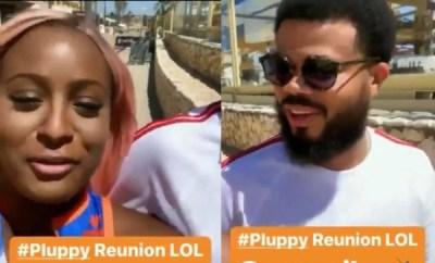 DJ Cuppy links up with ex-boyfriend Asa Asika (video)