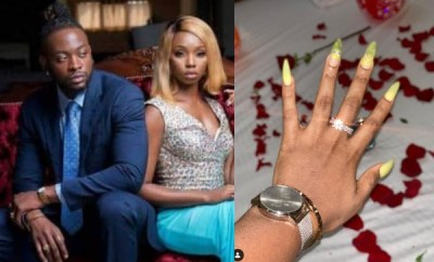 BamBam and Teddy A are engaged (photos)