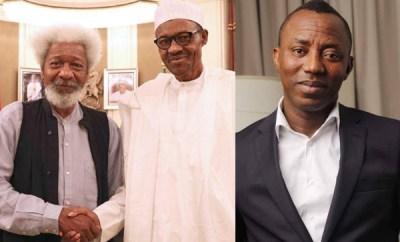 Buhari?s government behaving like Abacha?s ? Wole Soyinka speaks on Omoyele Sowore