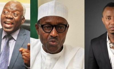 Buhari is clamping down on critics of his policies or perceived marginalization - Femi Falana speaks on Sowore
