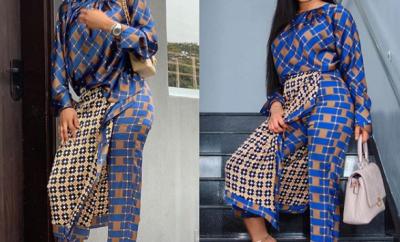 Toke Makinwa vs Nina: Who rocked the Zara print piece better?