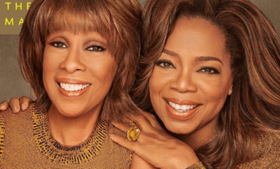 Oprah Winfrey poses for her first magazine cover with her best friend Gayle King, reveals why their friendship has lasted since 1976
